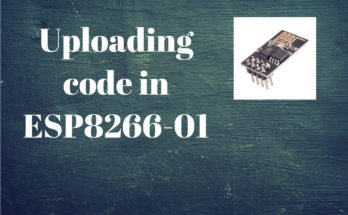 Uploading code in ESP8266-01