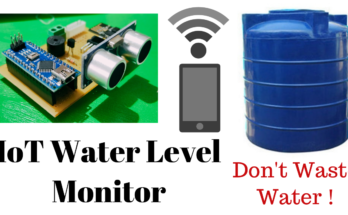 IoT based water level Indicator