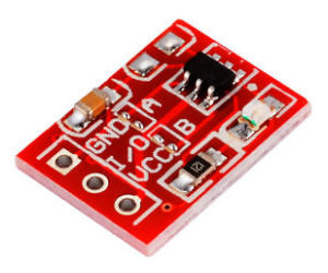 Touch Based Switch board using TTP223