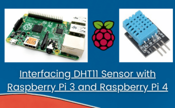 Connecting DHT11 Sensor with Raspberry Pi 3 / 4 using Python