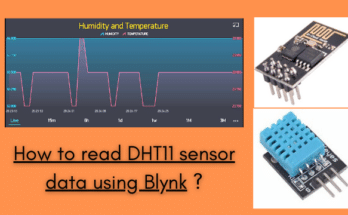 How to read DHT11 sensor data using Blynk