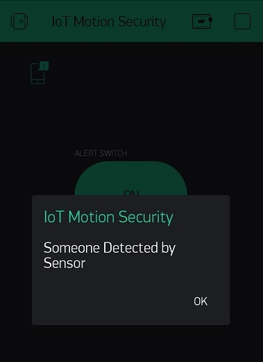IoT based Motion Detection alarm using ESP8266 and Blynk